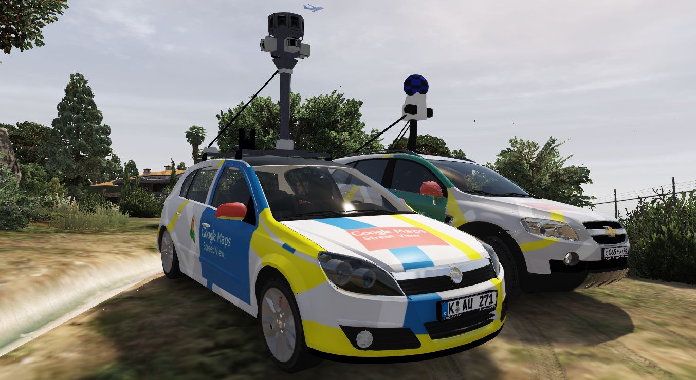 2004 Opel Astra H Google Maps Street View Car Replace Gta5